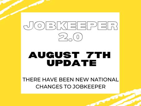 August JobKeeper Updates Explained