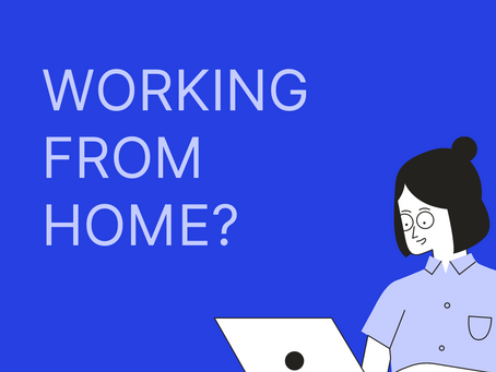 Working from home during lockdown?