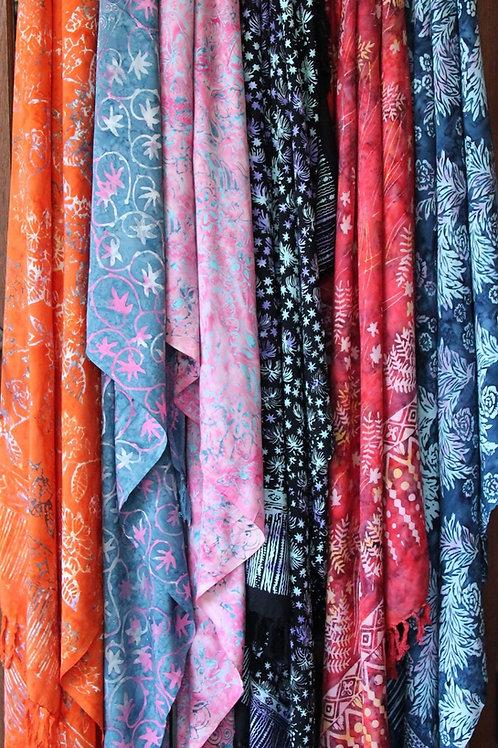 ผ้าผืนกรุยชาย ผ้าโสร่ง ผ้าเช็ดตัว ผ้าพันคอ