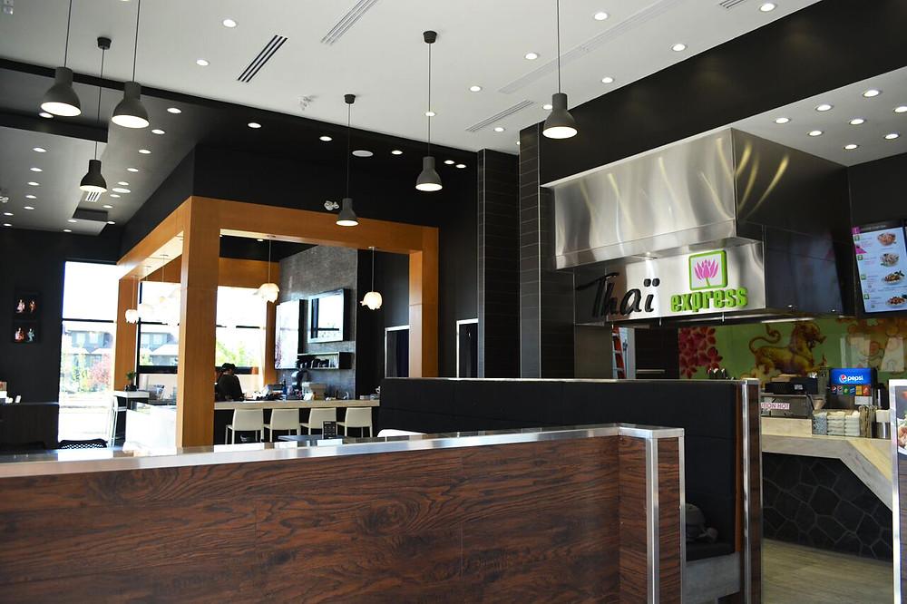 Restaurant construction management
