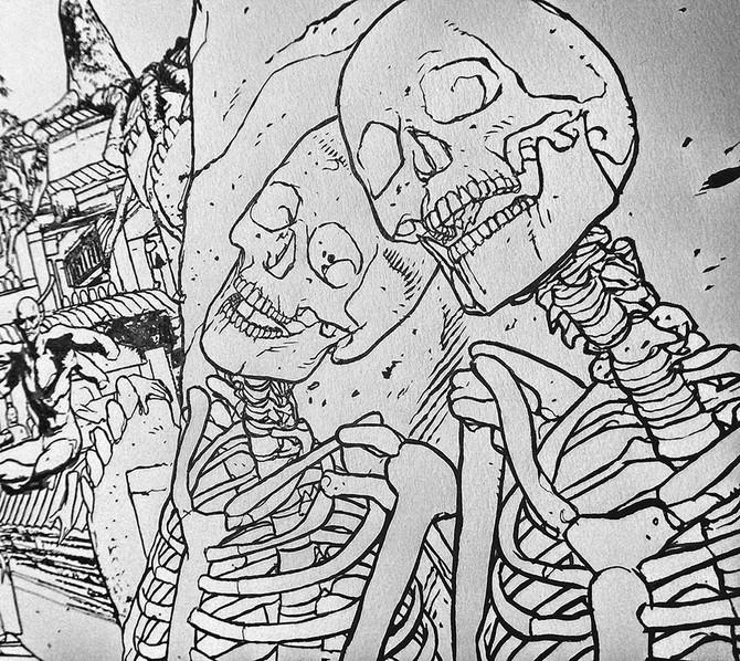 Skeletons on my Desk