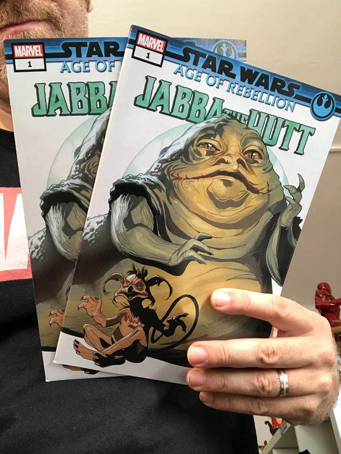 Jabba the Hutt 1 from Marvel - Doyou have?