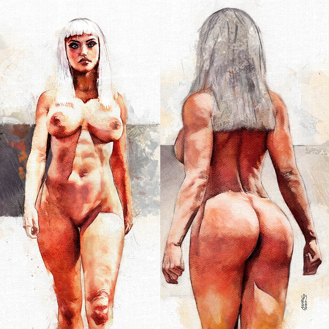 Anatomy Study for new character
