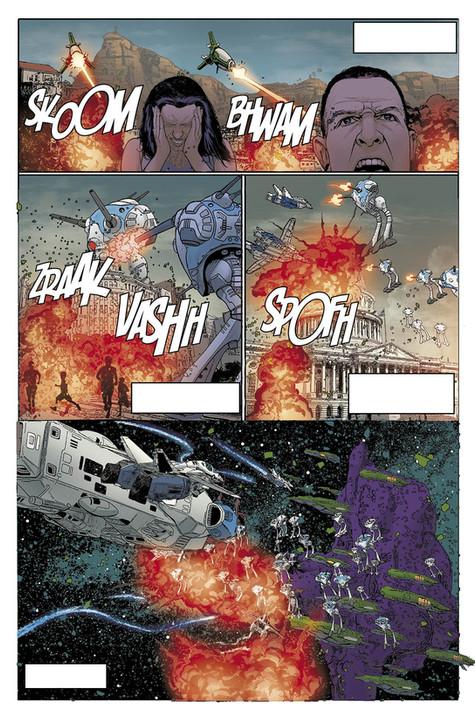 from Robotech- Titan Comics