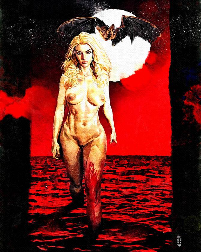Zora la Vampira Cover uncensored version