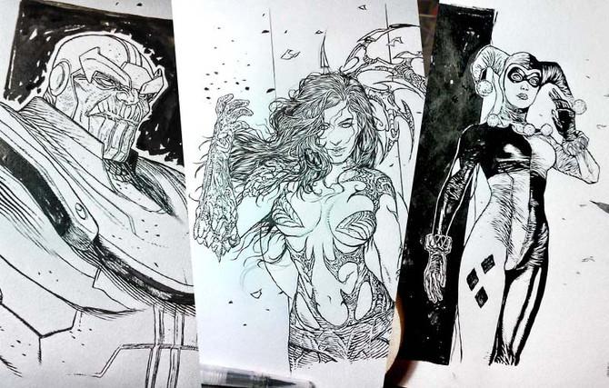 Art Book Sketches