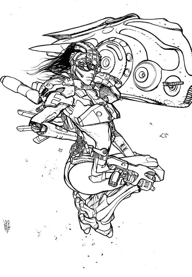 Lana Noveau Concept character.