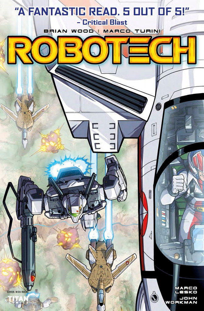 Out today! #Robotech Issue 2