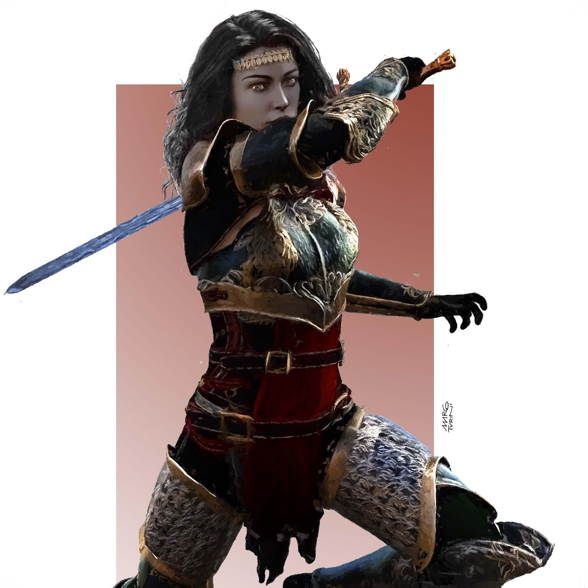 Warrior Girl