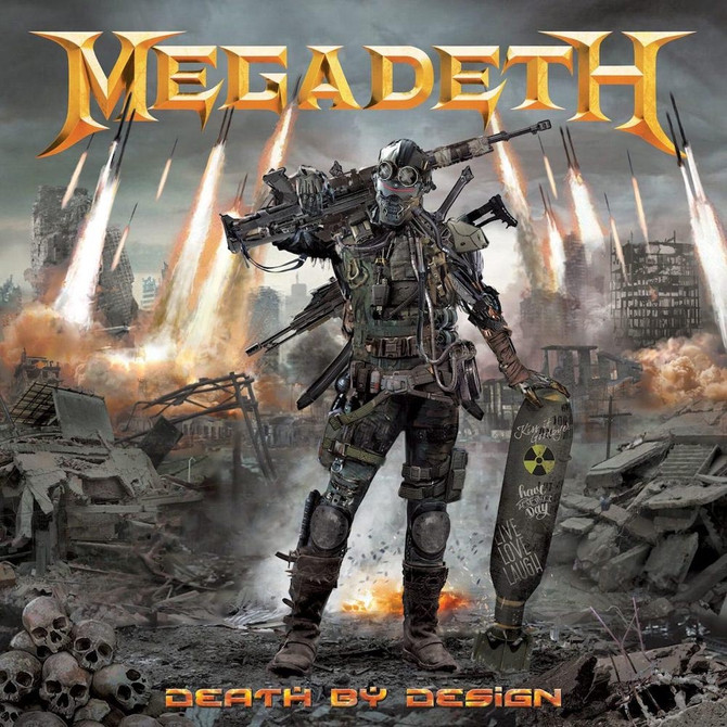 Megadeth Announce Death by Design Graphic Novel