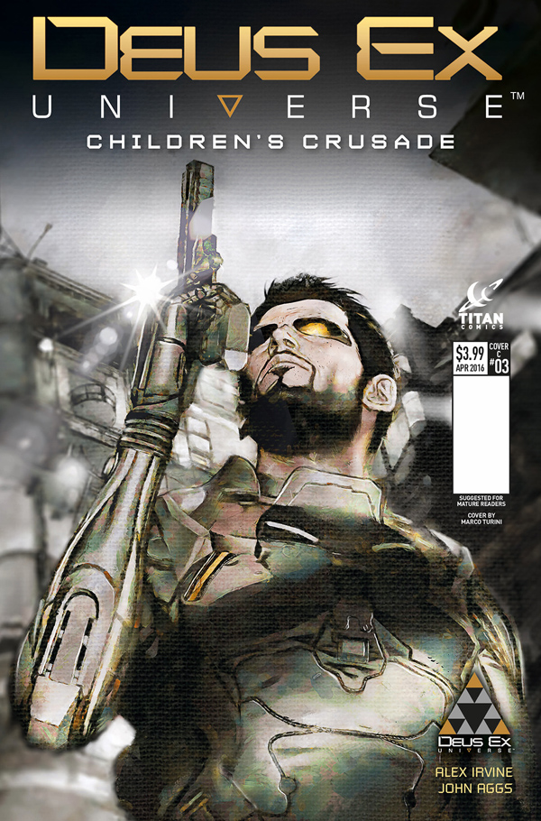 Deus Ex Cover Issue 3