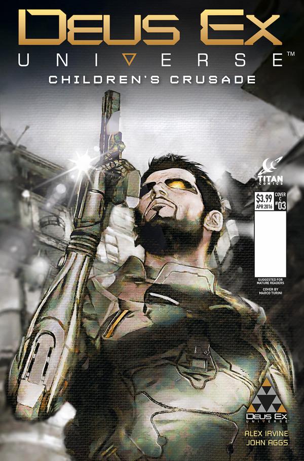 Deus Ex 3 Cover Revealed