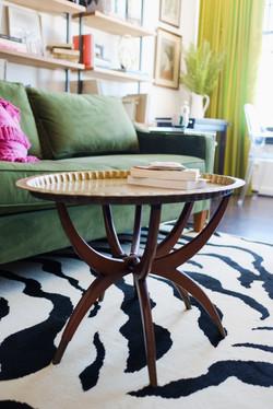 Colorful Condo Coffee Table