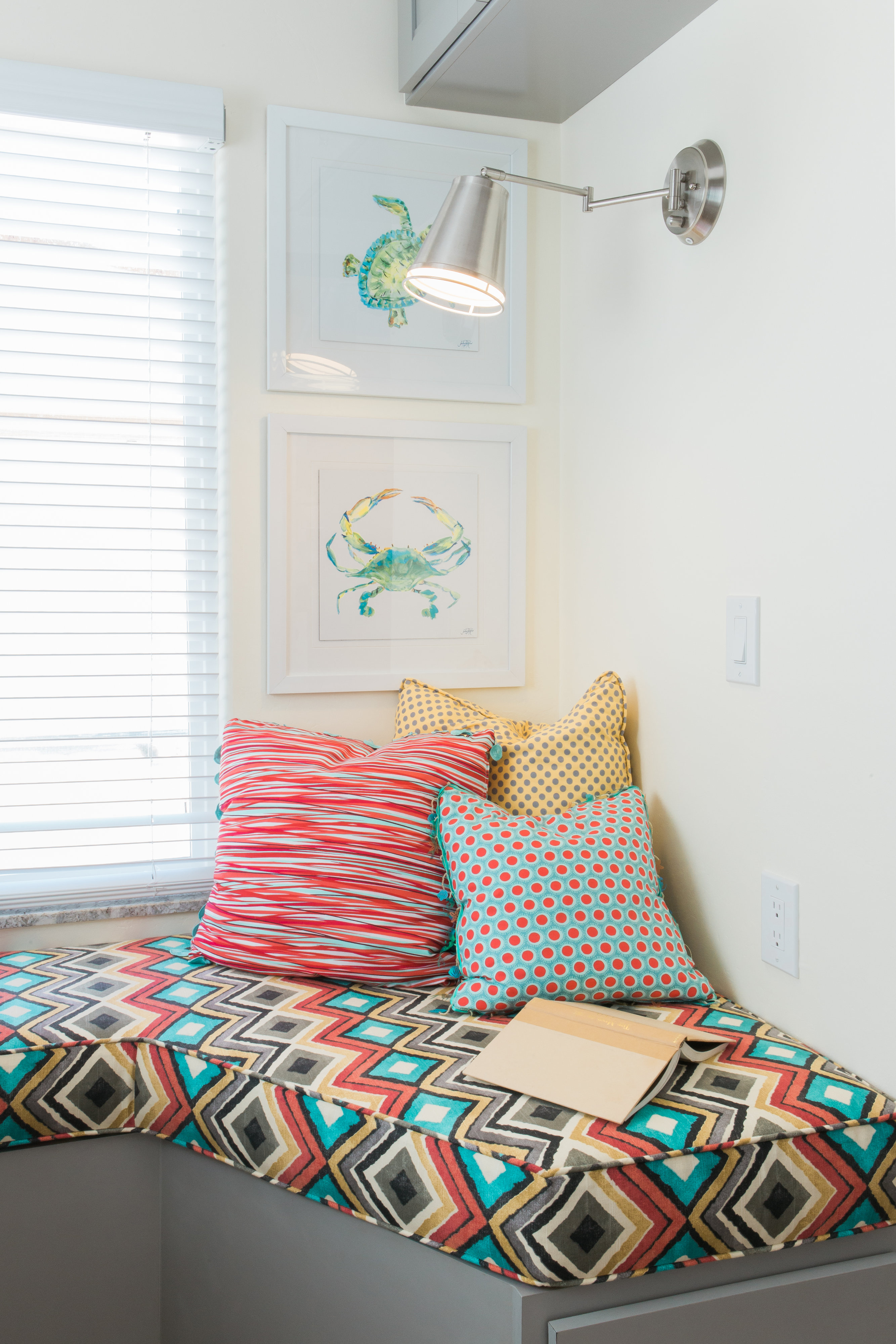 San Diego Small Space Reading Nook