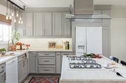 Grey & White Kitchen Cabinets