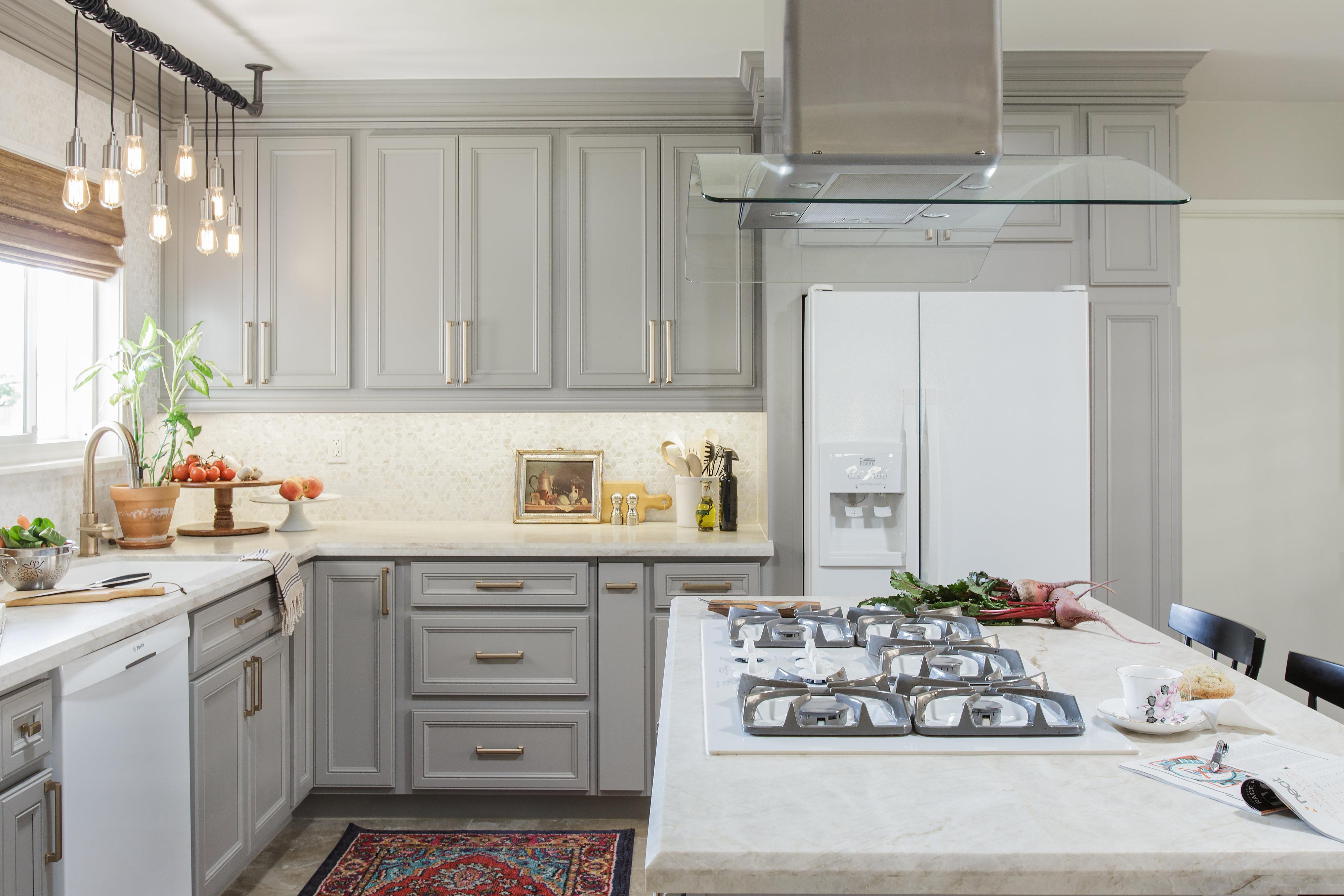 1_Gray Kitchen_white backsplash tile_San Diego_small spaces_Danielle Perkins_ Danielleidd