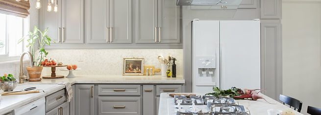 1_Gray Kitchen_white backsplash tile_San