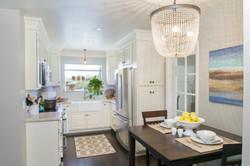White Small Kitchen Remodel
