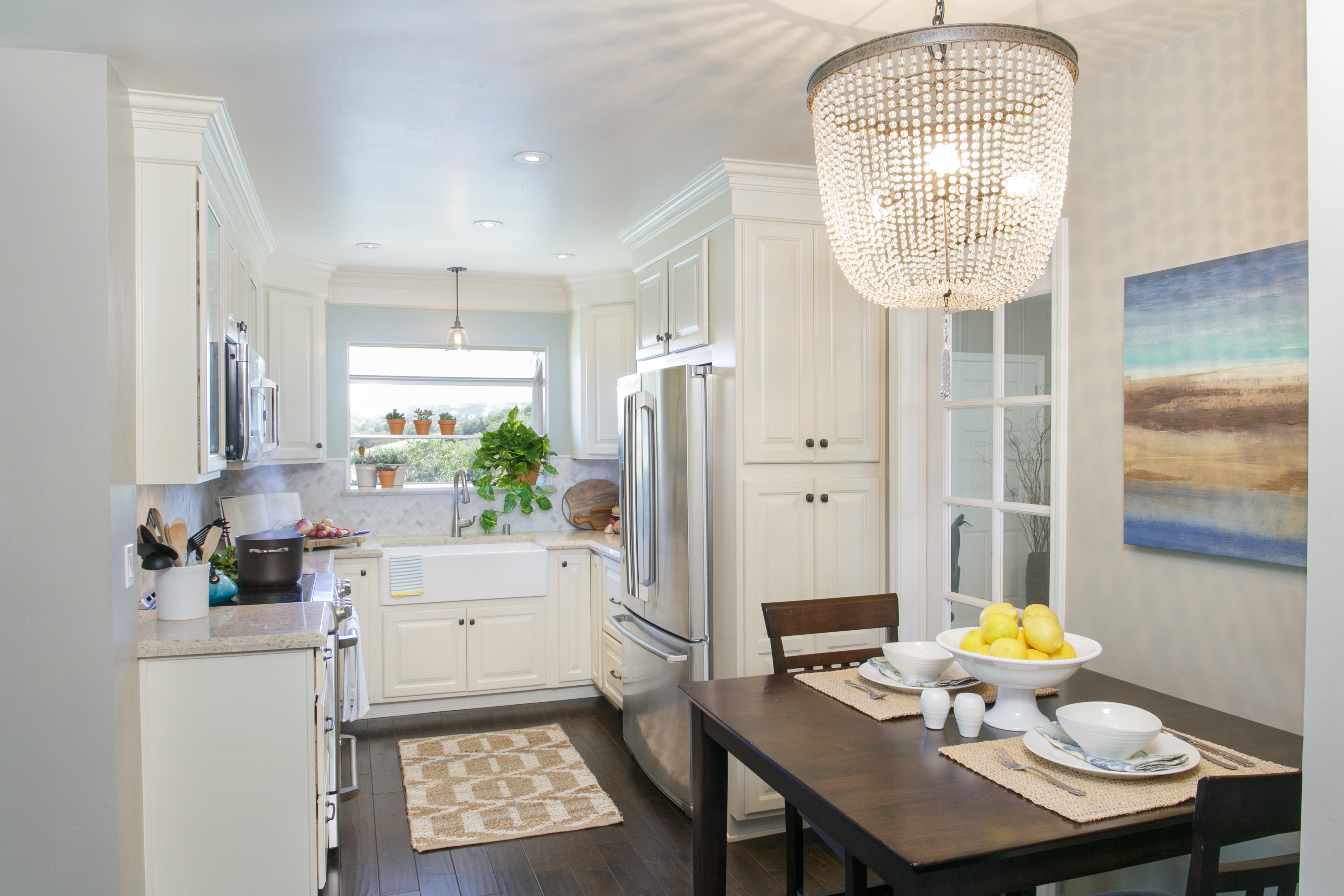 Danielle Perkins interior decorator before and after redesign kitchen San Diego 7