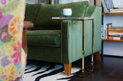 Colorful Small Condo Side Table