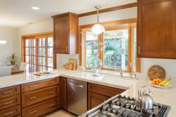 Warm Craftsman Style Kitchen Remodel