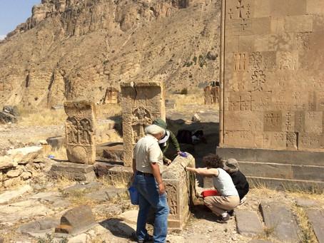 アルメニアの旅1 / アルメニア十字の石拓本プロジェクト2014