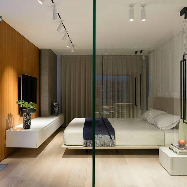 Освещение спальни