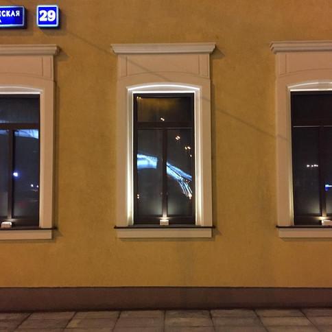 Уличное фасадное освещение в Москве   Certus Lighting