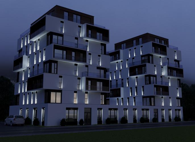 Освещение многоэтажного здания
