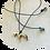 bronze horse necklace