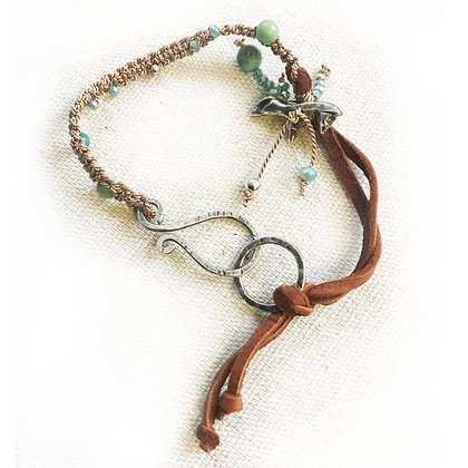 She Flies Without Wings Horse Bracelet