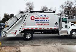 Carefree Disposal Truck