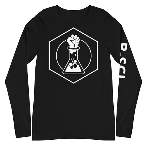 Black Unisex Long Sleeve w/ Text