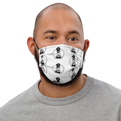 White B-SCI Face Mask