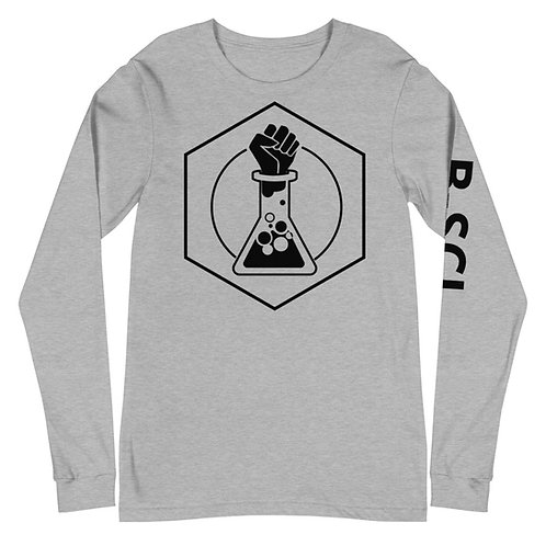 White or Gray Unisex Long Sleeve w/ Text