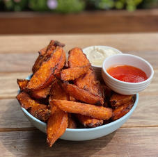 Sweet Potato Fries $9