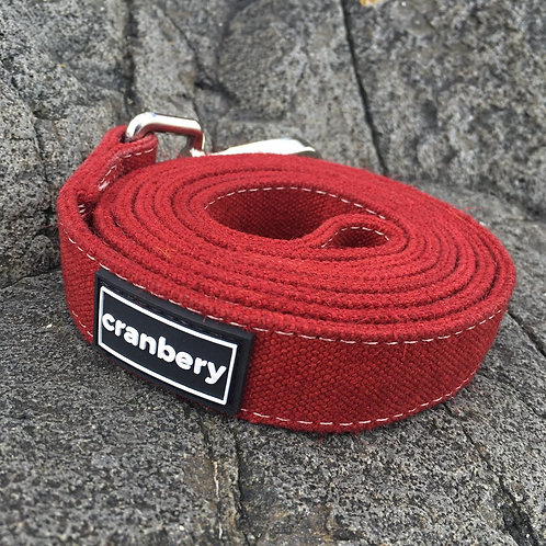 Cranbery - Hemp Lead 4ft (Mountain Red)