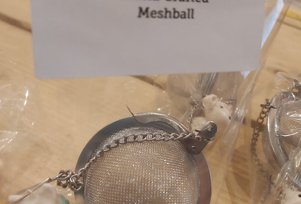 Hand Crafted Meshball for tea