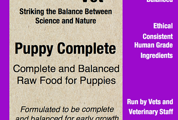 The Raw Vet - puppy complete