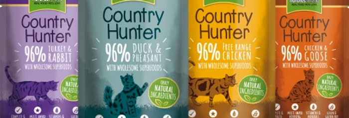 COUNTRY HUNTER CAT POUCHES  SUPERFOOD FOR ADULT CATS