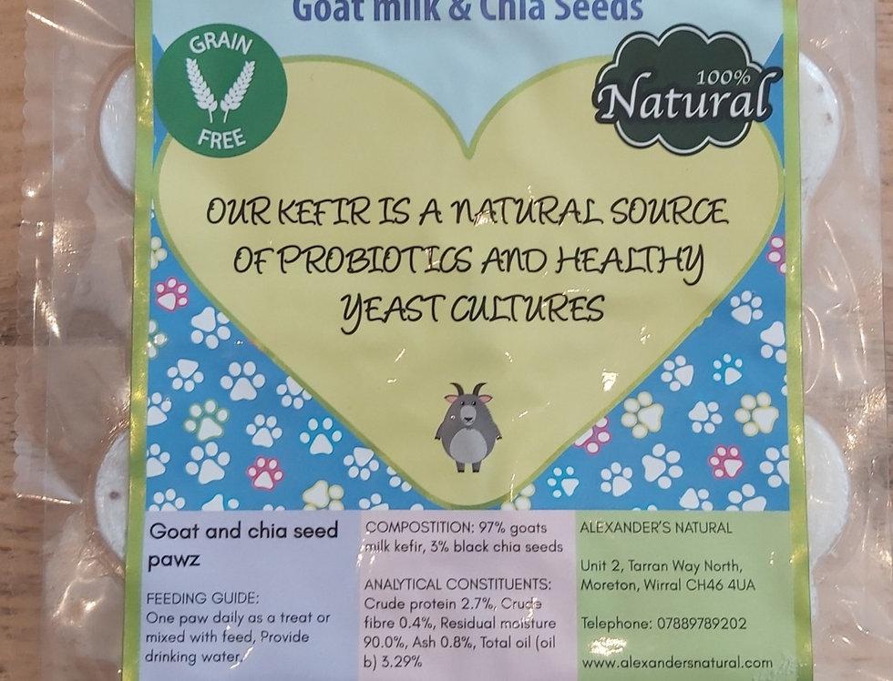 Alexander Naturals Kefir Pawz - Goat milk & Chia seeds