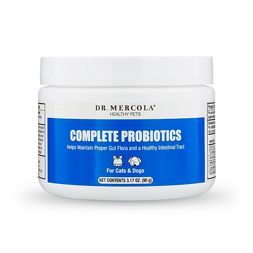 Dr Mercola - Complete Probiotics for Cats & Dogs