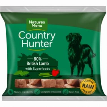 COUNTRY HUNTER RAW NUGGETS  BRITISH LAMB