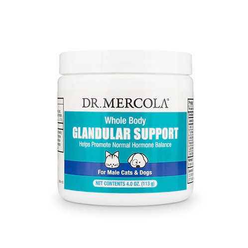 Dr Mercola - Whole Body Glandular Support for Cats & Dogs - Male