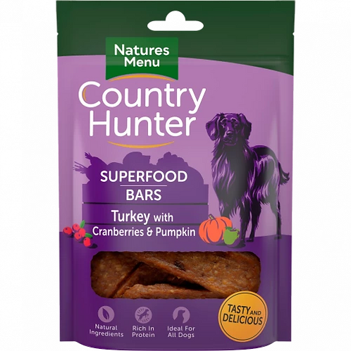 Country Hunter Superfood Bars (Turkey)