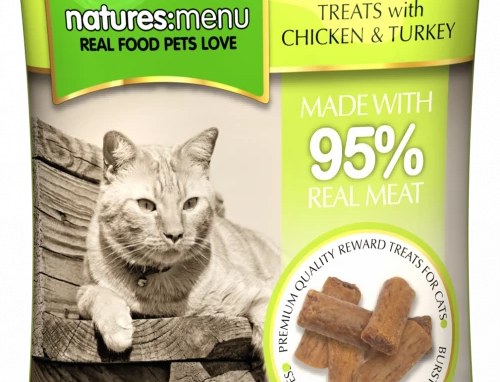 NATURES MENU TREATS  CHICKEN AND TURKEY FOR CATS