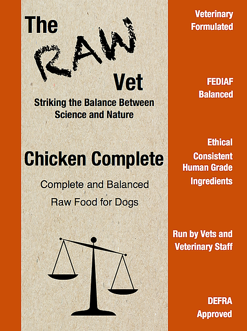 The Raw Vet - chicken complete