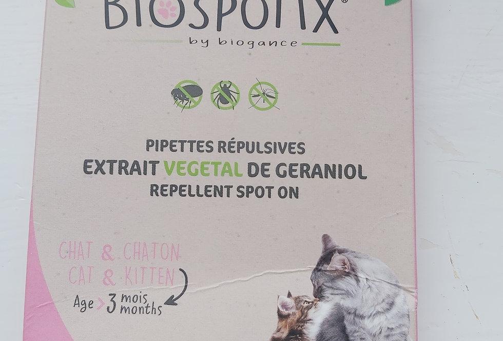 BIOSPOTIX CAT SPOT ON NATURAL FLEA TREATMENT