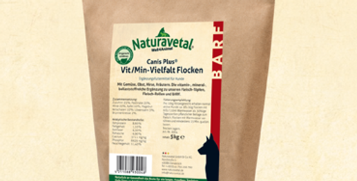 Canis Vit/Min Variety Flakes