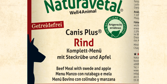 Canis Plus® Beef Complete Meal with Swede and Apple